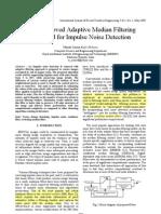 [4]an Improved Adaptive Median Filtering Method for Impulse Noise Detection - 2009