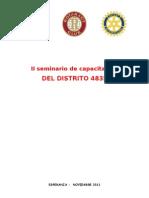 2 seminario de capacitacion   -  Rotaract