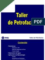 Taller Petrofacies
