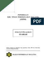 s930-Stpm Syariah Syllabus