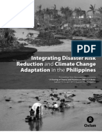 Integrating Disaster Risk Reduction & Climate Adaptation