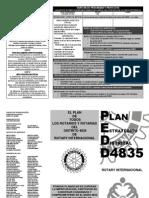 Plan Estratégico Distrito 4835