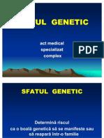 Sfatul Genetic