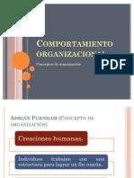Comportamiento organizacional conceptos