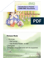 Introduction to CDMA MSC Documents