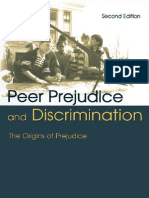 Peer Prejudice and Discrimination