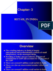 Chapter 3 Retail in India -Retail Management[1]