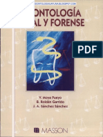 Odontologia Legal y Forense - Moya