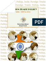 Foreign Trade Policy - India, 2009 - 2014