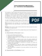 Mb0040 Statistics for Management Assignments Feb 11