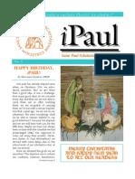 iPaul no. 5 - Saint Paul Scholasticate Newsletter