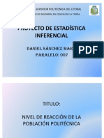 PROYECTO DE ESTADÍSTICA INFERENCIAL