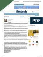 04-07-2011 El PRI se reposiciona | Periódico Sintesis | Portal de Noticias de Puebla, Tlaxcala, Hidalgo