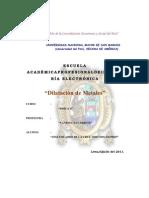 dilatacion de metales