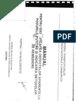 Manualul Pentru Identificarea Defectelor Aparente La Podurile Rutieresi Identificarea Metodelor de Reparare