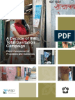 A Decade of the Total Sanitation Campaign Rapid Assessment of Processes and Outcomes a Report by Water and Sanitation Programme (2011)