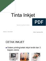 Pembuatan Tinta Inkjet Refill