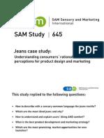 645 SAM Study Jeans