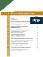 Health Finance Indicators