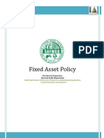 Fixed Asset Policy Adv