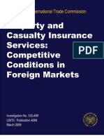 Competitive Conditions in Foreign Markets