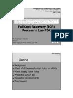 Full Cost Recovery (Noupheuak)
