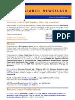 HYMS Research Newsflash -- July 2011
