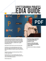 2011 Pittsburgh Pirates Media Guide