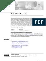 Control Plane Protection