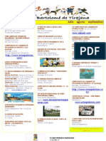 Agenda Eventos (Julio Agosto Septiembre