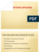 Aplikasi Sensor Suhu