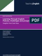 Publication 1 - Learning Through English