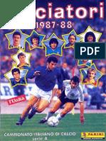 Edizioni.Panini.-.Campionato.1987.1988.-