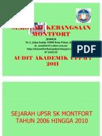 Audit Akademik SK Montfort Uppm 2 2011