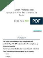 QSR Consumer Snap Poll 2011