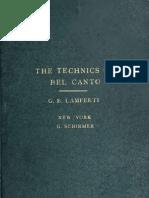 Battista, Lamperti - The Techniques of Bel Canto - Feherebb Lap