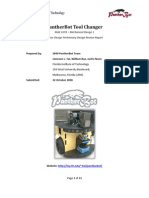 PantherBot Tool Changer PDR