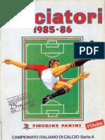 Edizioni.Panini.-.Campionato.1985.1986.-