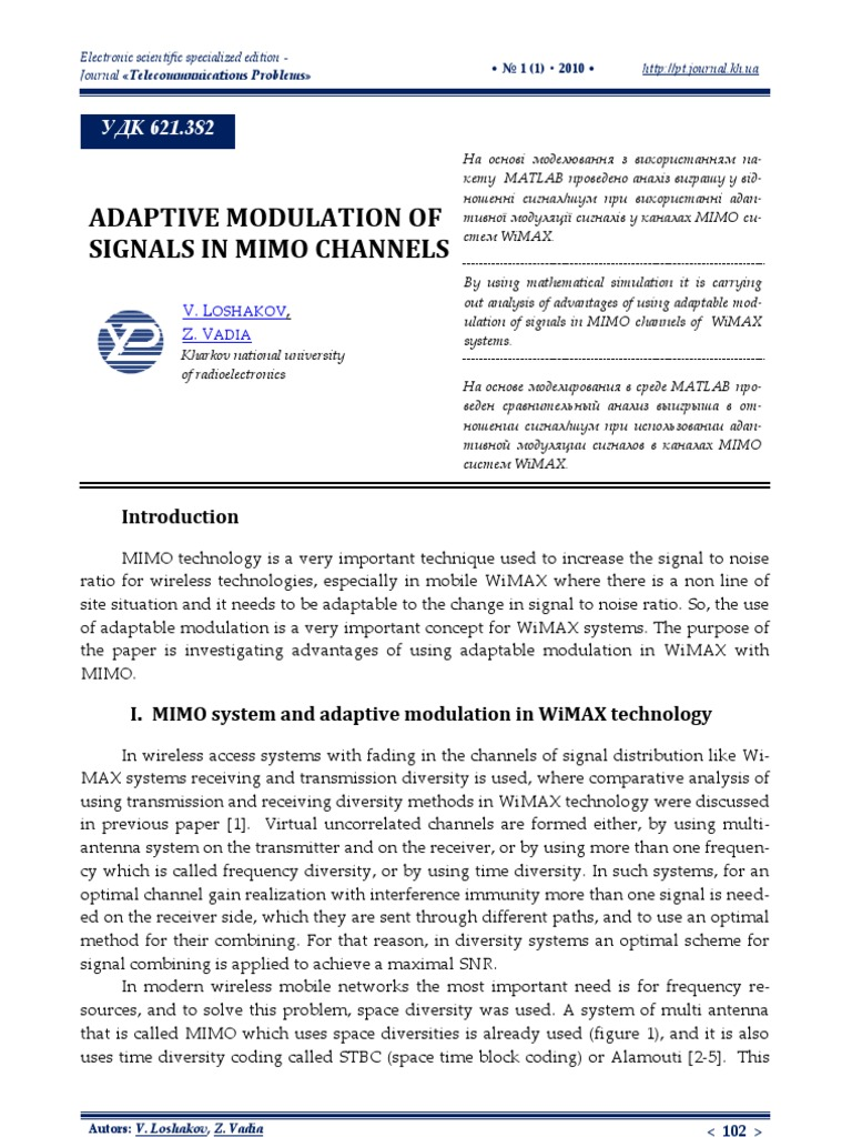 MIMO Matlab Model-2 | Mimo | Modulation