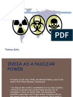 India as Nuclear Power