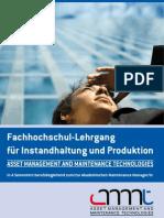 AMMT - Neuer FH-Lehrgang für Instandhaltung & Produktion