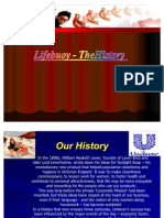 History of Lifebuoy