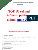 50 Top Politics June