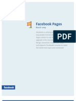 Face Book Pages Product Guide