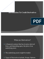 Introduction to Credit Derivatives1[1]