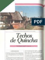 Techos de Quincha