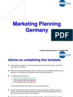 Marketing Planning Germany