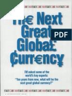 Next Gen Global Currency