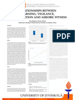 Relationships between learning, vigilance, acute exertion and aerobic fitness