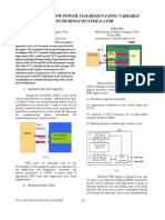 An Atpg for Low Power Vlsi Design